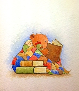 Little Cub reading 2