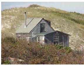 Cape Cod dune shack