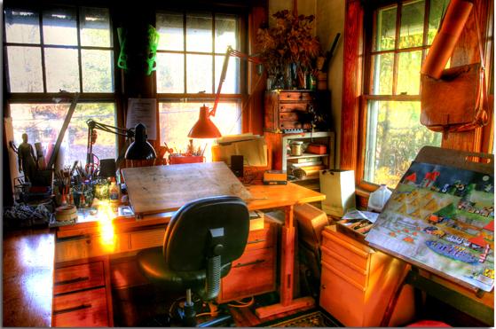 A Corner of Studio