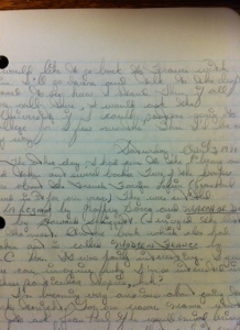 1971 Journal Entry